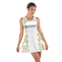 Vintage Pattern Background  Vector Seamless Cotton Racerback Dress by Amaryn4rt