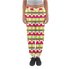 Tribal Pattern Background Women s Jogger Sweatpants