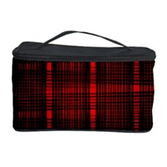 Black And Red Backgrounds Cosmetic Storage Case