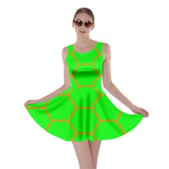 Bee Hive Texture Skater Dress by Amaryn4rt