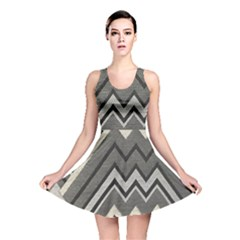 Geometric Home Decor Fabric Reversible Skater Dress