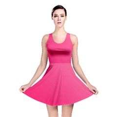 Pink Color Reversible Skater Dress