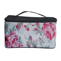 Rose Red Flower Cosmetic Storage Case by Jojostore