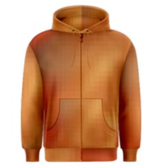 Bright Tech Background Men s Zipper Hoodie