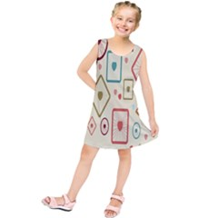 Wheel Love Valentine Kids  Tunic Dress