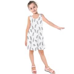 Falling Leaves Kids  Sleeveless Dress