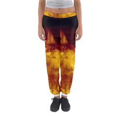 Ablaze Abstract Afire Aflame Blaze Women s Jogger Sweatpants by Amaryn4rt