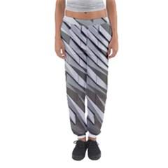 Abstract Background Geometry Block Women s Jogger Sweatpants by Amaryn4rt