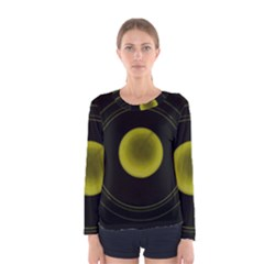 Abstract Futuristic Lights Dream Women s Long Sleeve Tee by Amaryn4rt