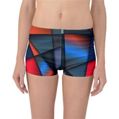 3d And Abstract Reversible Bikini Bottoms by Nexatart