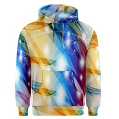 Colour Abstract Men s Pullover Hoodie by Nexatart