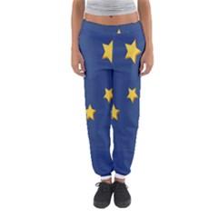Starry Night Moon Women s Jogger Sweatpants by Jojostore