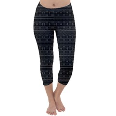 Capri Winter Leggings  Front
