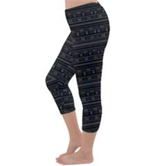 Capri Winter Leggings  Back