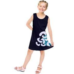 Elegant Abstraction Kids  Tunic Dress by Valentinaart