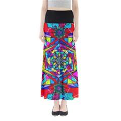 Gratitude - Women s Maxi Skirt by tealswan