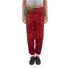Background Christmas Women s Jogger Sweatpants