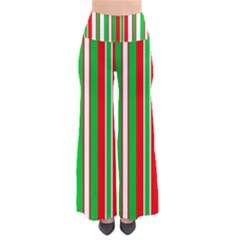 Christmas Holiday Stripes Red Green,white Pants