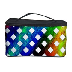 Pattern Template Shiny Cosmetic Storage Case by Nexatart