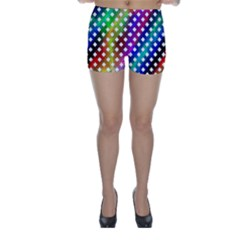 Pattern Template Shiny Skinny Shorts by Nexatart