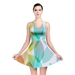 Rainbow Feather Reversible Skater Dress by Brittlevirginclothing