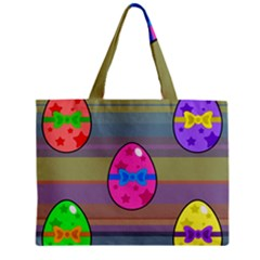 Holidays Occasions Easter Eggs Zipper Mini Tote Bag by Nexatart