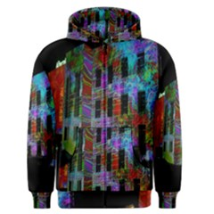 Science Center Men s Zipper Hoodie by Nexatart