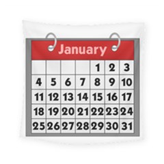 Calendar Clip January Square Tapestry (small) by Jojostore