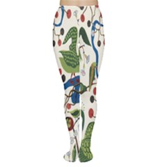 Bird Green Swan Women s Tights by Jojostore