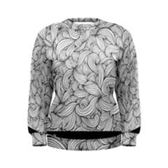 White Knot Dress Bohemian Women s Sweatshirt by Brittlevirginclothing
