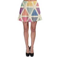 Colorful Triangle Skater Skirt by Brittlevirginclothing