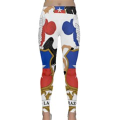 Coat Of Arms Of Chile Classic Yoga Leggings by abbeyz71