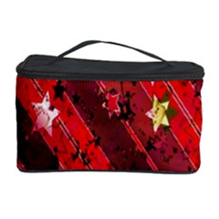 Advent Star Christmas Poinsettia Cosmetic Storage Case by Nexatart