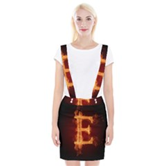 Fire Letterz E Suspender Skirt