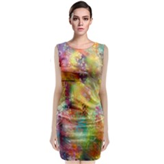 Rainbow Spirit Classic Sleeveless Midi Dress by KirstenStar