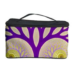 Glynnset Royal Purple Cosmetic Storage Case by Alisyart