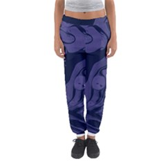 Marble Blue Marbles Women s Jogger Sweatpants