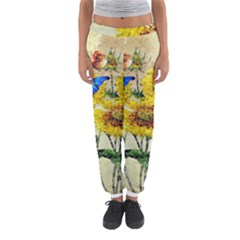 Backdrop Colorful Butterfly Women s Jogger Sweatpants by Nexatart