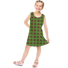 Christmas Paper Wrapping Patterns Kids  Tunic Dress