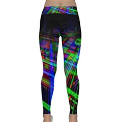 Electronics Board Computer Trace Classic Yoga Leggings by Nexatart