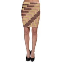 Fabric Textile Tiered Fashion Bodycon Skirt by Nexatart