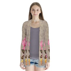 Flower Floral Bouquet Background Cardigans by Nexatart
