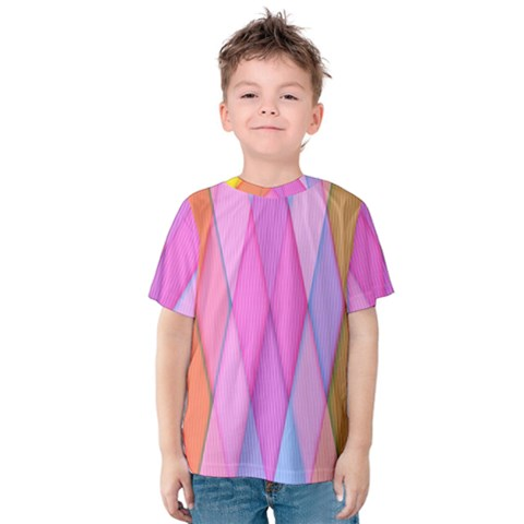 Graphics Colorful Color Wallpaper Kids  Cotton Tee by Nexatart