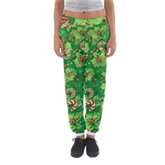 Green Holly Women s Jogger Sweatpants