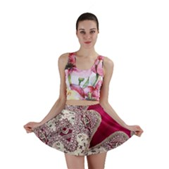 Morocco Motif Pattern Travel Mini Skirt by Nexatart