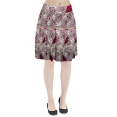 Morocco Motif Pattern Travel Pleated Skirt by Nexatart