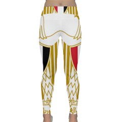 Coat Of Arms Of Egypt Classic Yoga Leggings