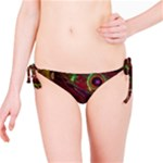 Collection: Metamorpha <br>Print Design:  Gypsy Moth - Bruna <br>Style: Bikini Bottoms to match reversible top