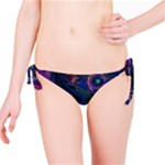 Collection: Metamorpha <br>Print Design:  Gypsy Moth - Violetta <br>Style: Bikini Bottoms to match reversible top