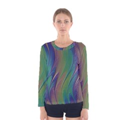 Texture Abstract Background Women s Long Sleeve Tee by Nexatart